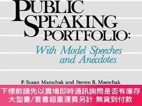 二手書博民逛書店預訂School罕見Administrator S Public Speaking Portfolio: With