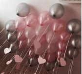 60個加厚珠光氣球結婚禮婚房布置生日派對