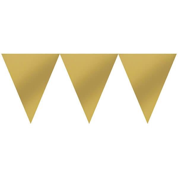 三角旗-璀璨金