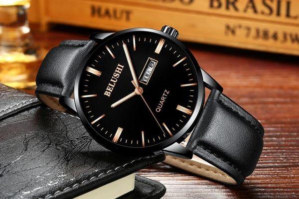 手錶手錶男學生男士手錶運動石英錶防水時尚潮流夜光帶男錶韓腕錶