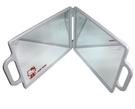 日本 HELLO KITTY 日本手提式折疊雙面鏡(大) 表面鋼琴烤漆  美髮師專用鏡