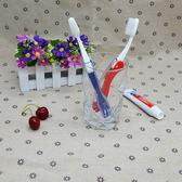 旅行折疊牙刷便攜細軟毛出差戶外家用非一次性成人牙刷4支裝包 艾尚旗艦店