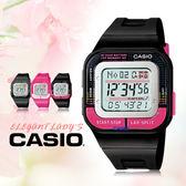 CASIO 手錶專賣店 卡西歐 SDB-100-1B  電子錶 女錶  方形錶殼  10年電力 防水50米 LED照明