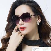 墨鏡 新款偏光太陽鏡圓臉女士墨鏡女潮明星款防紫外線眼鏡大臉優雅 居優佳品