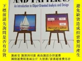 二手書博民逛書店Applying罕見UML and Patterns(精裝英文原