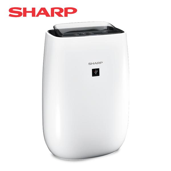 【折扣碼sharp85再折】SHARP 夏普 12坪自動除菌離子清淨機-白色 FU-J50T-W