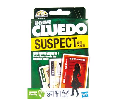 CLUEDO SUSPECT  妙探尋兇卡牌