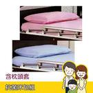 抗菌床包組(含枕頭套) 氣墊床/電動床/防水 單人床包 (粉紅色)