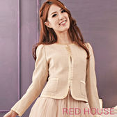 【RED HOUSE-蕾赫斯】千鳥格西裝外套