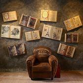 壁掛復古工業風酒吧墻壁軟裝飾品美式創意家居臥室房間墻面掛件掛飾【父親節禮物鉅惠】