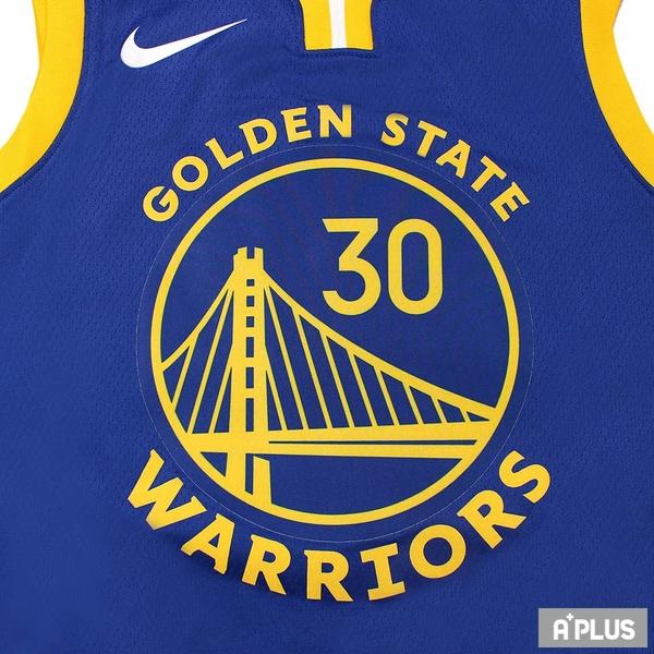 NIKE 男 GSW M NK SWGMN JSY ICON 20 Stephen Curry 籃球背心 - CW3665401