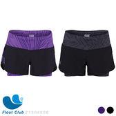 ZOOT 女款 瑜珈式二合一 輕肌能跑步褲 - 2 IN 1 RUN PCH 3 SHORT