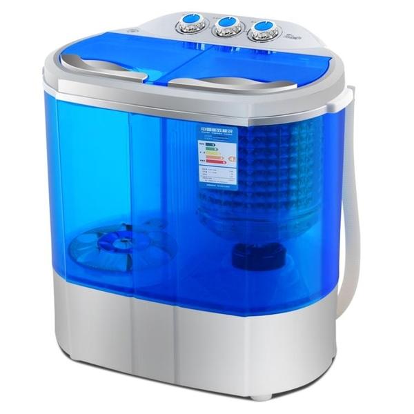 脫水機 家用雙桶缸半全自動寶嬰兒童小型迷你洗衣機脫水甩干220V『快速出貨YTL』