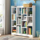 書架簡約現代簡易經濟型置物架省空間落地學生桌上臥室收納小書櫃【快速出貨】JY