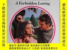二手書博民逛書店A罕見Forbidden loving 外文原版口袋書Y1098