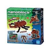 【日本KAWADA河田】NanoblockPLUS積木-獨角仙 PBH-013