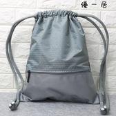 束口袋抽繩後背包男女通用戶外旅行背包
