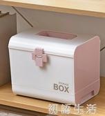 醫藥箱家用急救箱小藥箱家庭裝藥盒應急救藥箱收納盒箱子大號 初語生活