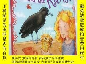 二手書博民逛書店The罕見Princess and the Raven (Pri
