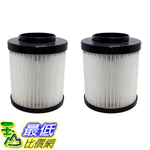 [106美國直購] 2 Highly Durable Washable & Reusable Dirt Devil Style F22/F26 Filters 1LV1110000