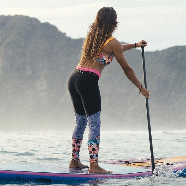 PROTEST 女 運動機能長褲 (熱帶棕櫚) IMPARTIAL SURF LEGGING