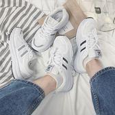 運動鞋 春夏正韓街拍運動鞋女風ulzzang百搭休閒鞋白色學生跑步鞋   霓裳細軟