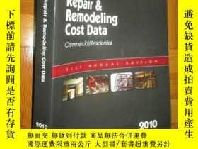 二手書博民逛書店Means罕見Repair & Remodeling Cost