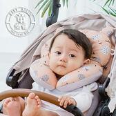 枕頭 嬰兒枕頭 嬰兒定型枕 推車枕頭 防偏頭 3D透氣枕 雙面用