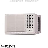 SANLUX台灣三洋變頻右吹窗型冷氣4坪SA-R28VSE