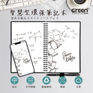 【GREENON】A5 智慧型環保筆記本 手帳記事本 熱擦除 重複使用 防水耐用石頭紙 APP掃描電子化
