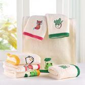 繽紛聖誕 6條裝洗臉帕子毛巾純棉家用成人小的長方形兒童毛巾幼兒園
