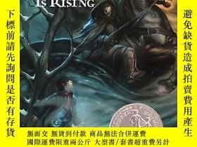 二手書博民逛書店紐伯瑞獎英語有聲罕見The Dark is Rising 8張聽