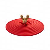 矽膠耐熱防塵水杯蓋-麋鹿