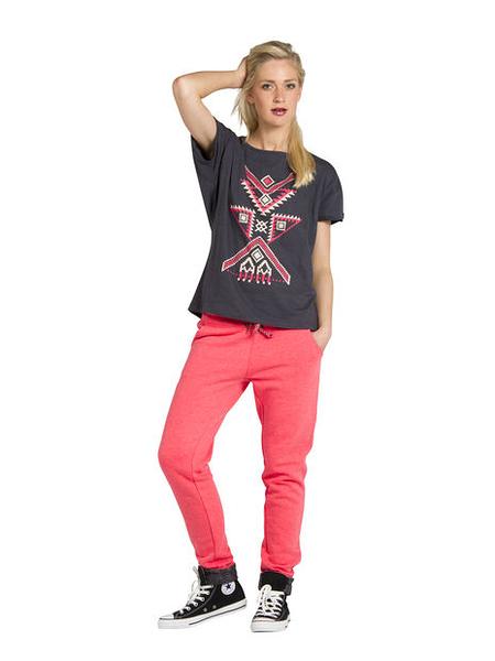 PROTEST 女 FIT系列 機能運動長褲 (螢光紅) BREEZY SPORT PANTS