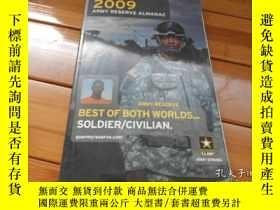 二手書博民逛書店2009罕見ARMY RESERVE ALMANACY20470