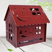 木質機頂盒置物架光貓路由器收納盒插座網線集線盒WIFI收納箱