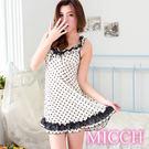 MICCH 清新禮頌 巧點浪漫MIT睡衣裙