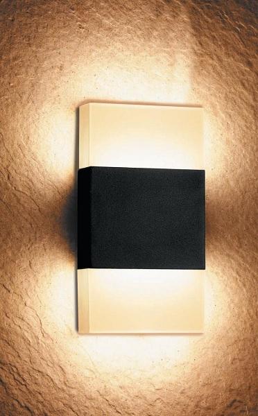 燈飾燈具【燈王的店】LED 10W金磚室內外壁燈 ☆ OD-2273