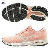 MIZUNO WAVE RIDER WAVEKNIT 3 女鞋 慢跑 編織 耐磨 避震 輕量 粉【運動世界】J1GD192915