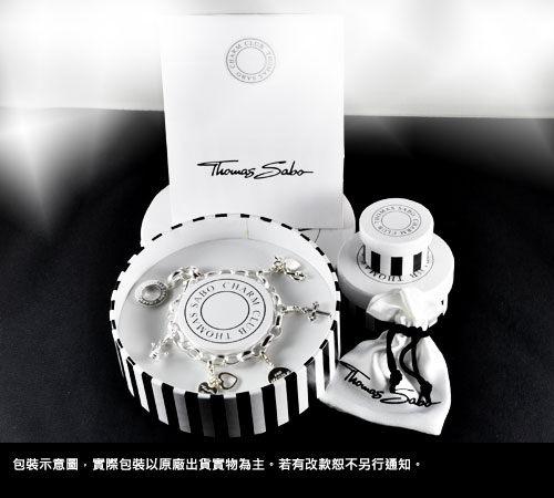 Thomas Sabo Charm Club 珍珠串珠吊飾手環 X0041