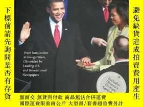 二手書博民逛書店Obama:罕見The Historic Front Pages