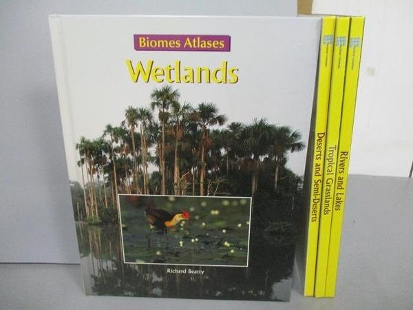 【書寶二手書T8/少年童書_FMG】Wetlands_Rivers and Lakes等_4本合售