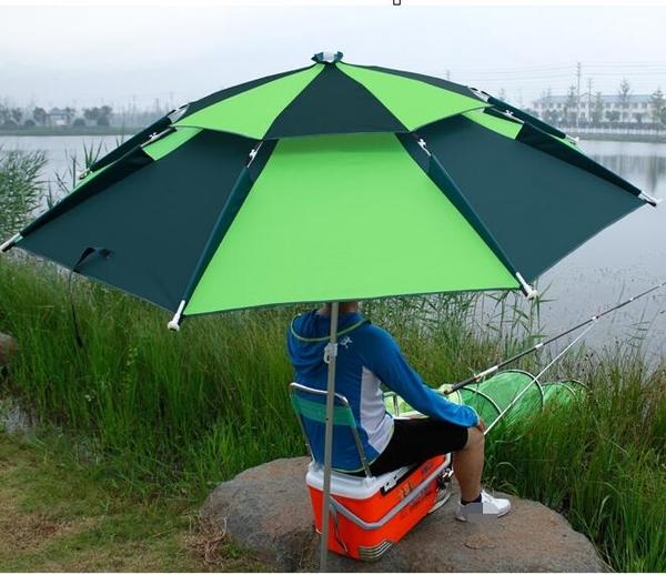 釣魚傘2.2米萬向防雨戶外釣傘摺疊