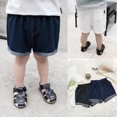 男童短褲嬰兒仿牛仔短褲褲子夏裝男童童裝中褲1歲小童寶寶兒童薄款潮X1103 1件免運