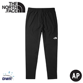 【The North Face 男 透氣排汗長褲《黑》】53BG/DWR/排汗/防潑水/運動褲/休閒褲/跑步