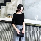 大韓訂製氣質洋裝韓版棉麻套装兩件式日系韓一字領洋裝縮腰