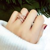 現貨 韓版指環戒指食指素圈簡約冷淡風【雲木雜貨】