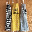廚房家居清潔護衣男女做飯純棉圍腰 果果輕時尚