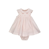 mothercare 粉無袖氣質包臀洋裝-素雅藍粉(M0SA606)03M~24M