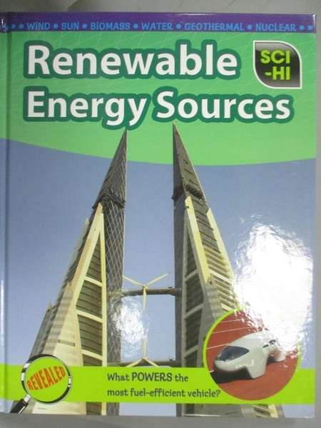 【書寶二手書T3/科學_QLS】Renewable Energy Sources_Andrew Solway